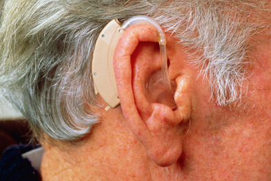 Hearing aids can help, but not in cases of high-frequency hearing loss (Photograph: SPL)