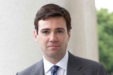 Labour shadow health secretary Andy Burnham