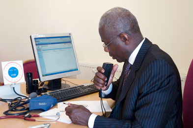 Routine recording of GP consultations could improve healthcare (Photograph: SPL)