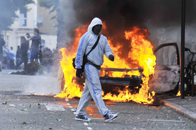 Guidance has urged practices to increase defences in light of ongoing riots in London (Photograph: Rexfeatures)