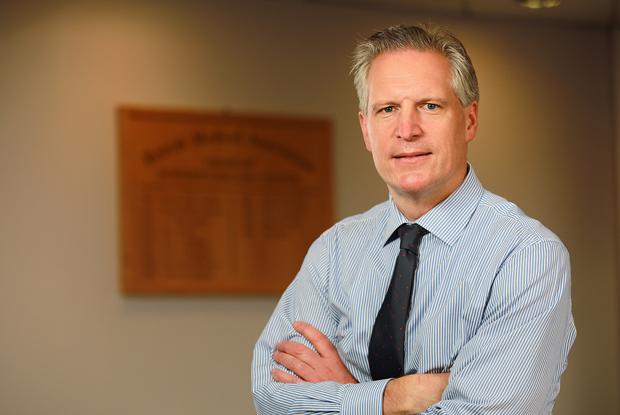 Dr Alan Stout (Photo: BMA Northern Ireland)