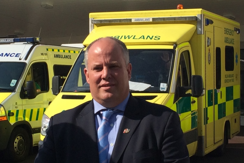 Welsh Conservatives leader Andrew Davies (Photo: Welsh Conservatives)