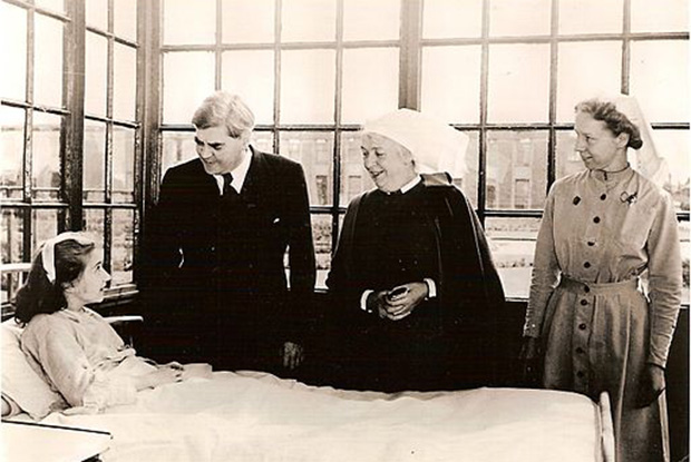 Anenurin Bevan pictured on the first day of the NHS (Picture: University of Liverpool Faculty of Health & Life Sciences)