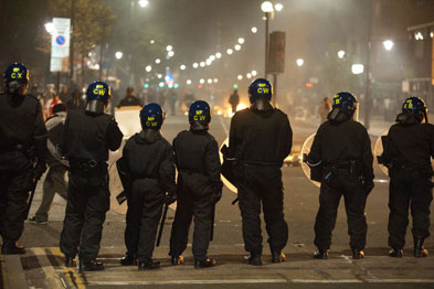 Many surgeries were forced to close due to the threat of further riots (Photograph: Rexfeatures)