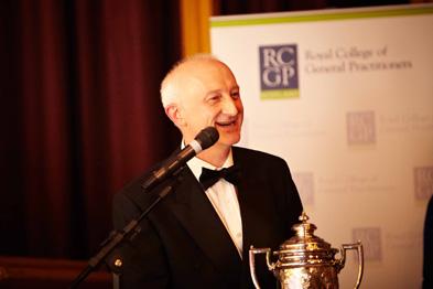 GP of the Year Dr Joe Tangney (Photograph: RCGP Scotland)