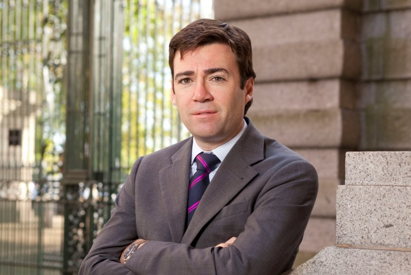 Andy Burnham: pledge to recruit GPs (Photo: Alex Deverill)