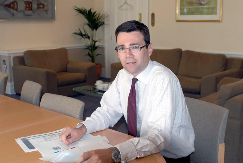 Andy Burnham: integrated care organisations plan (Photo: Charlie MacDonald)