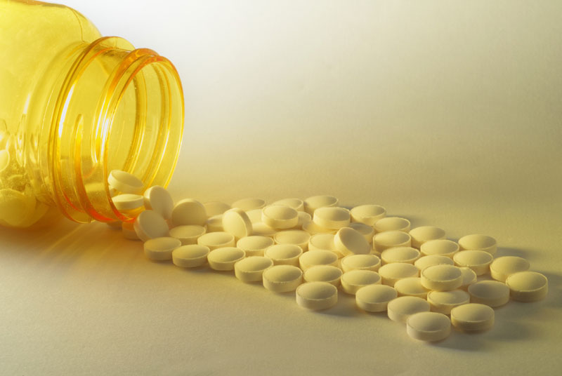 Vitamin D supplements: balanced diet alone may be insufficient (photo: Science Photo Library)