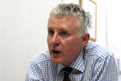 Mr Lamb: 'I think it was really important that we stopped, listened and tried to address the concerns.'