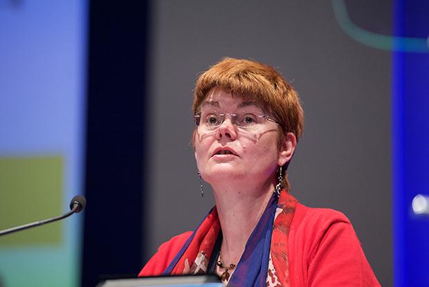 Dr Christiane Harris from Bedfordshire LMC (Photo: JH Lancy)