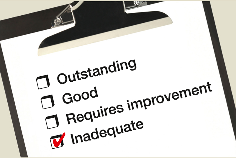 Rating: practices rated inadequate could be placed in special measures