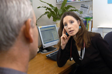 A poll has shown that 90% of patients trust their doctor to tell the truth (Photograph: Haymarket Medical/J H Lancy)