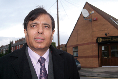 Dr Chand: reforms marketise the NHS (Photograph: Michelle Jones)