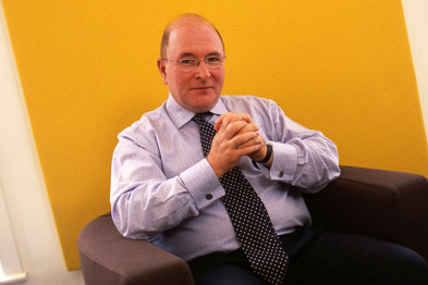 GMC chief executive Niall Dickson: 'very pleased' with the BMA response (Photograph: Rob Clayton)