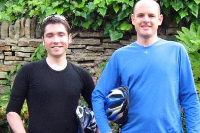 Dr Jez McCole (left) and Dr Jim Lee