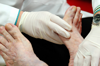 Diabetes patients are missing out on checks such as foot examinations, the report said (Photo: iStock)