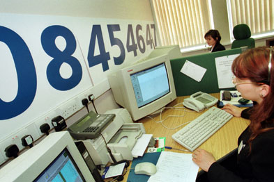 NHS Direct has been criticised for increasing GP and A&E workload but GPs hope NHS 111 will be better (Photograph: UNP)