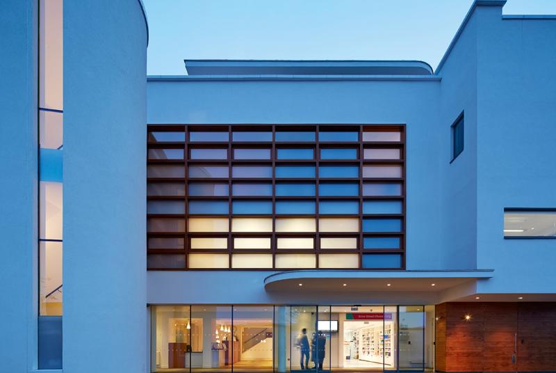 Workingham Medical Centre's prestigious new premises (Photo Barbara Weiss architects)