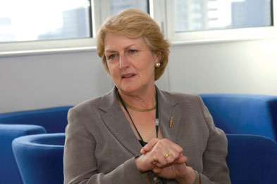 Baroness Barbara Young: fact that fewer than 20% of people with diabetes receive structured education 'outrageous' (Photo: Jason Heath Lancy)