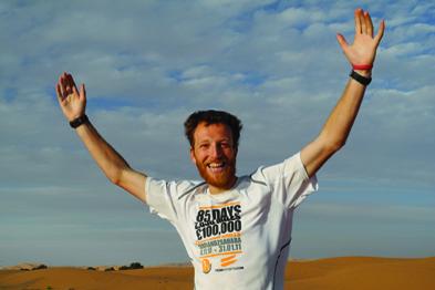 Dr Murray will run seven ultra marathons on seven continents