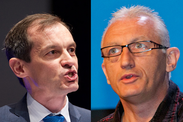 Dr Richard Vautrey (l) and Dr Mark Sanford Wood (r) set to challenge for GPC role (Photos: JH Lancy; Wilde Fry)