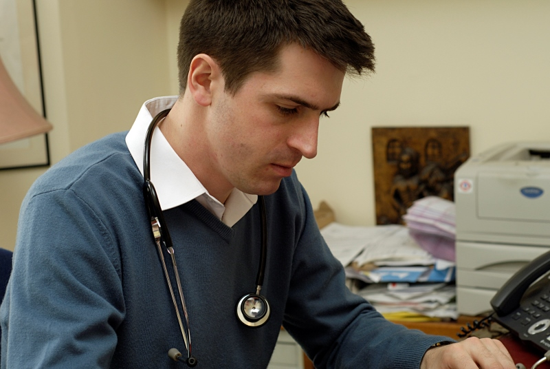 Trainee GPs: recruitment proving difficult (Photo: JH Lancy)