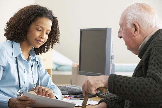 GP consultation (Photo: iStock.com/bowdenimages)