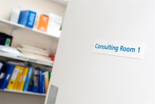 GP consulting room (Photo: Robert Johns/UNP)