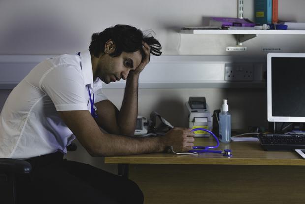 GPs seeking help for burnout (Photo: iStock.com/SolStock)