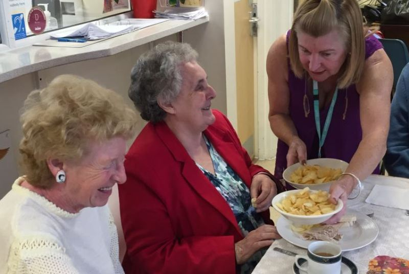 Tea parties at GP practices have helped tackle loneliness