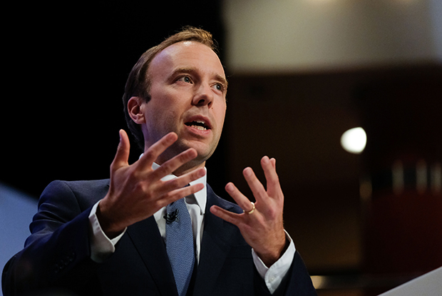 Health secretary Matt Hancock (Ian Forsyth/Getty Images)