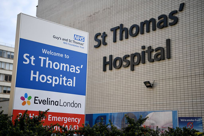 Some patients with the virus are being treated at a specialist centre at Guys and St Thomas' hospital in London (Photo: Daniel Leal-Olivas/Getty Images)