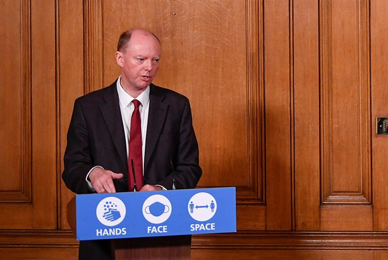 England CMO Professor Chris Whitty said there had been downsides to shielding in the first wave of the pandemic (Photo: WPA Pool /Getty Images)