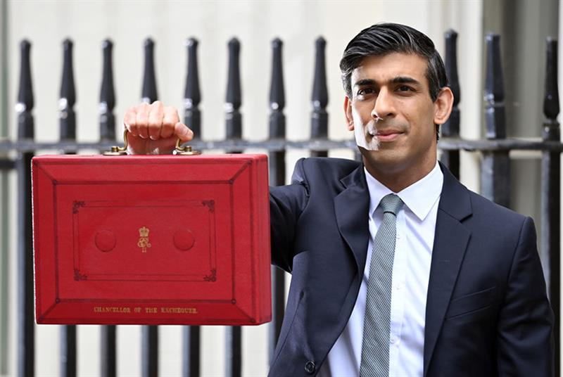 Chancellor Rishi Sunak ahead of delivering the budget earlier this month (Photo: Karwai Tang/Getty Images)