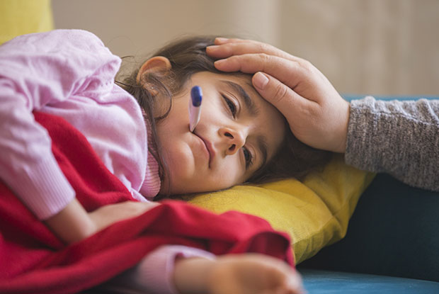 The key symtom is unremitting fever, which can last for several days (Photo: ridvan_celik/Getty Images)