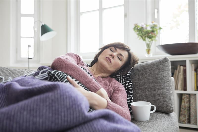 Patients with long COVID can suffer from fatigue (Photo: Westend61/Getty Images)