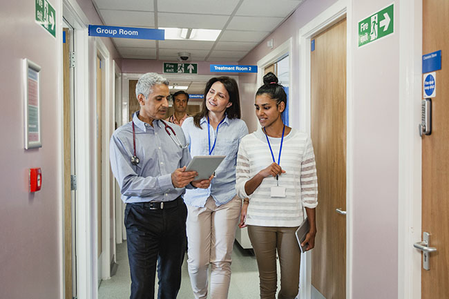 New staff will be employed as part of plans for primary care networks (Photo: SolStock/Getty Images)