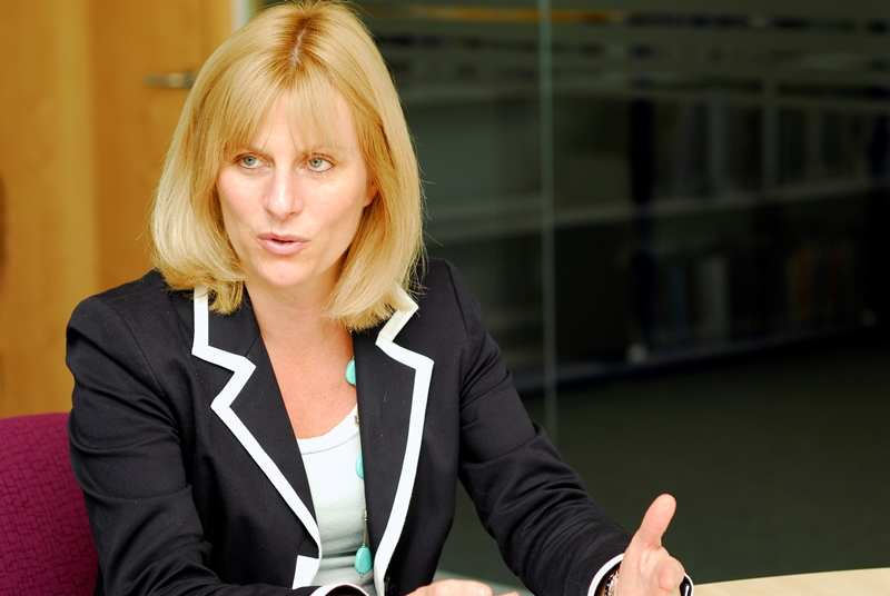Professor Gillian Leng: disappointing that NICE advice not followed (photo: Jason Heath Lancy)