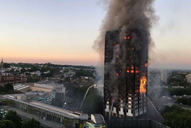 Grenfell Tower fire: death toll rising (Photo: ©Natalie Oxford / @Natalie_Oxford)