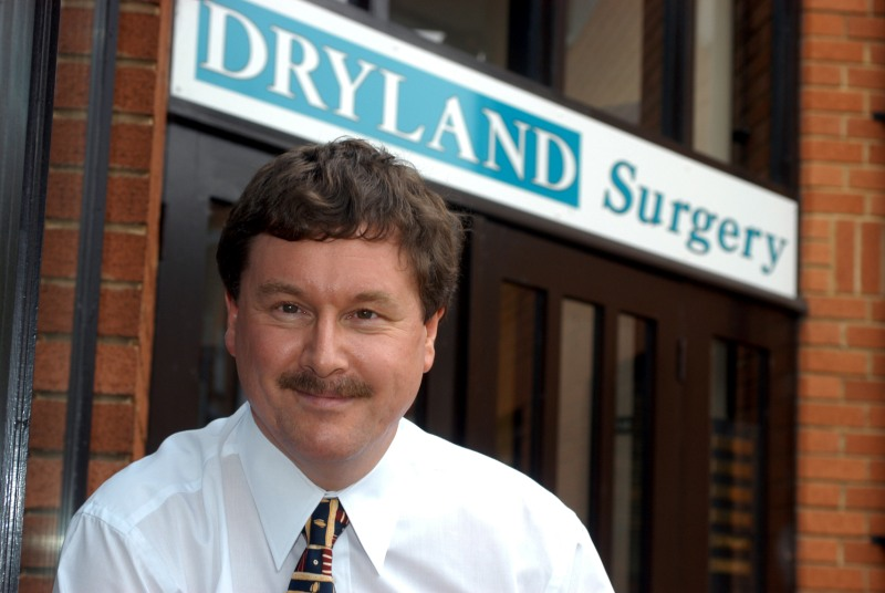 Dr Hadrian Moss: threatened with contract breach (Photo: Philip Reeson)