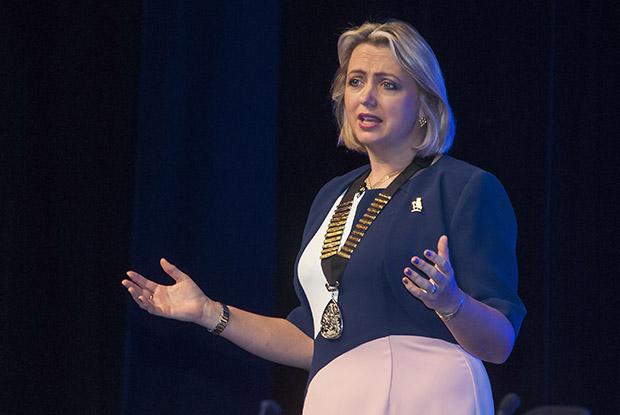 Professor Helen Stokes-Lampard: no excuse for talking down GP careers (Photo: Pete Hill)