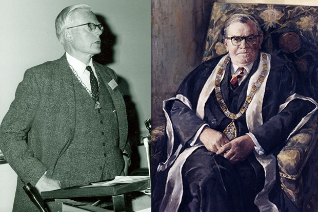 Drs John Hunt (left) and Fraser Rose first proposed a College of General Practitioners (Photos: RCGP Archives)