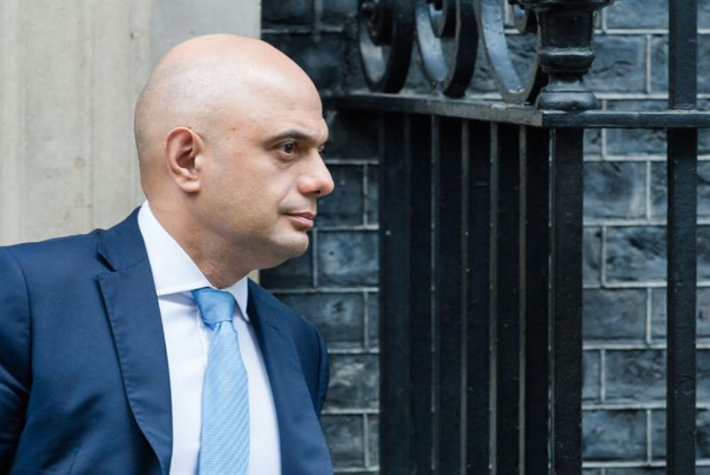 Former chancellor Sajid Javid (Photo: NurPhoto/Getty Images)
