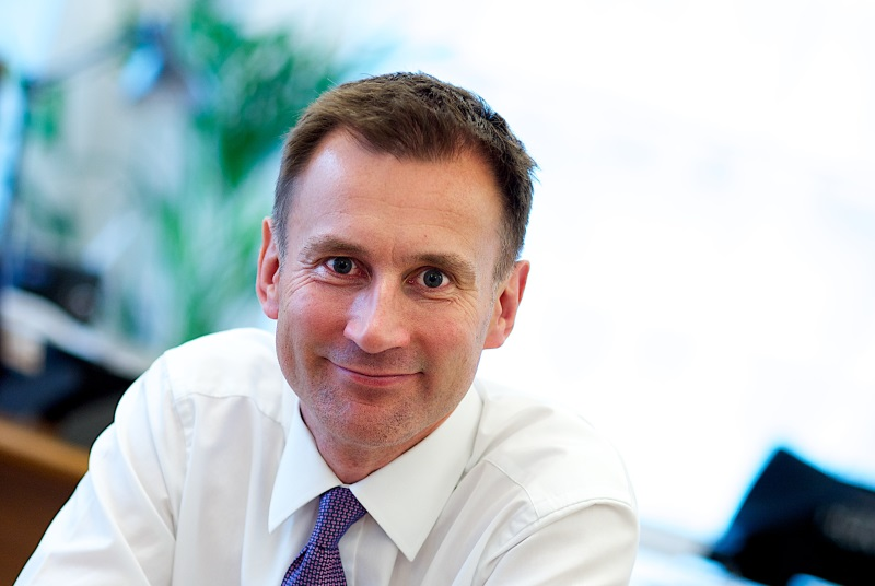 Health secretary Jeremy Hunt: savings plans (Photo: JH Lancy)