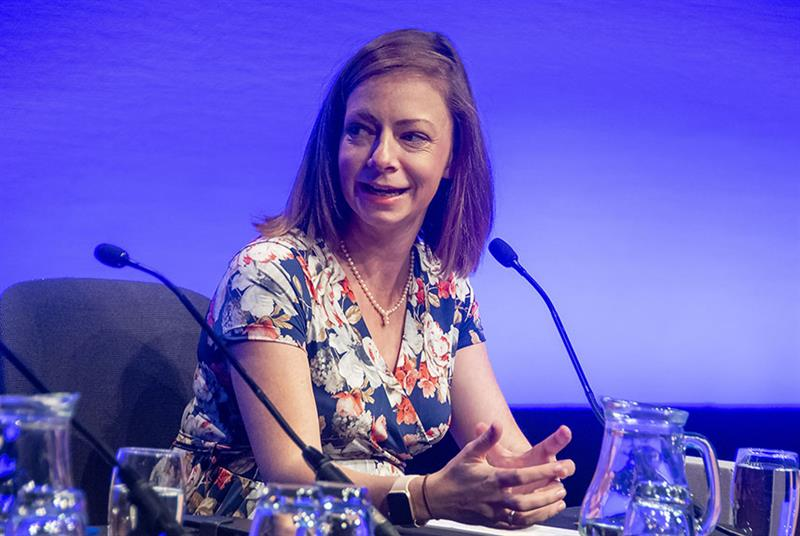 RCGP first 5 committee chair Dr Jodie Blackadder-Weinstein (Photo: Pete Hill)