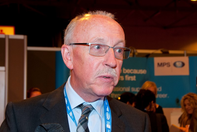 Dr John Gillies: warning over impact of cuts (Photo: Pete Hill)