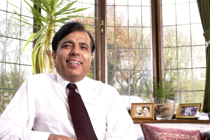Dr Chand: 'The public and professionals might be concerned about the state of NHS finances.' Pic: Michele Jones