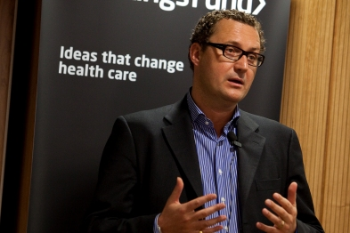 Mark Britnell: focus on outcomes (photo: King's Fund)
