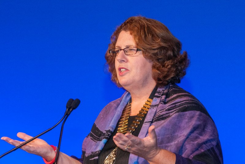 Dr Maureen Baker: general practice is best job in medicine (Photo: Pete Hill)