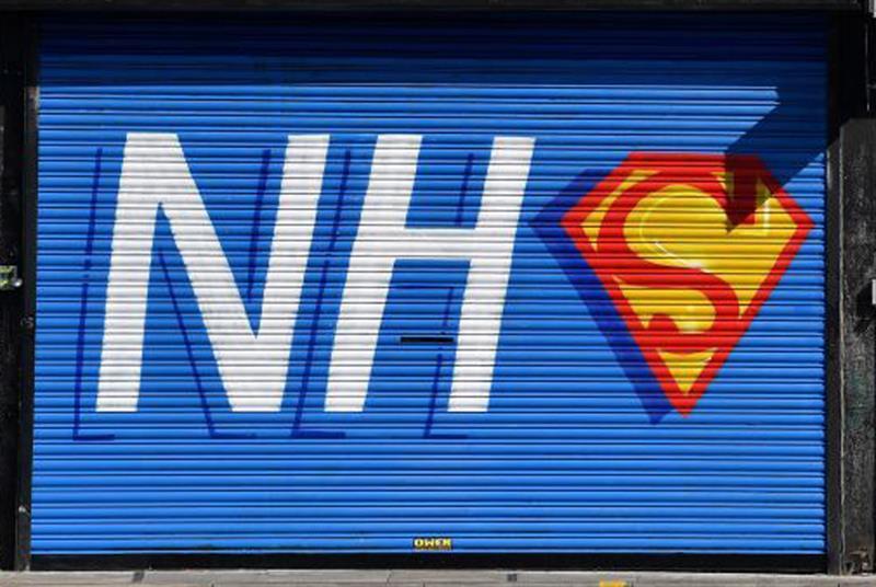 NHS heroism (Photo: Paul Ellis/Getty Images)